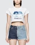Fiorucci Fiorucci Blue Printed Vintage Angels T-shirt Picutre