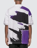 Alexander Wang Oversize Printed Jersey Polo