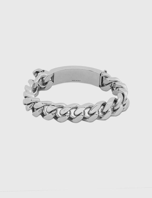 Alexander McQueen Identity Chain Bracelet Mcq0911sil.v.b.anil Men