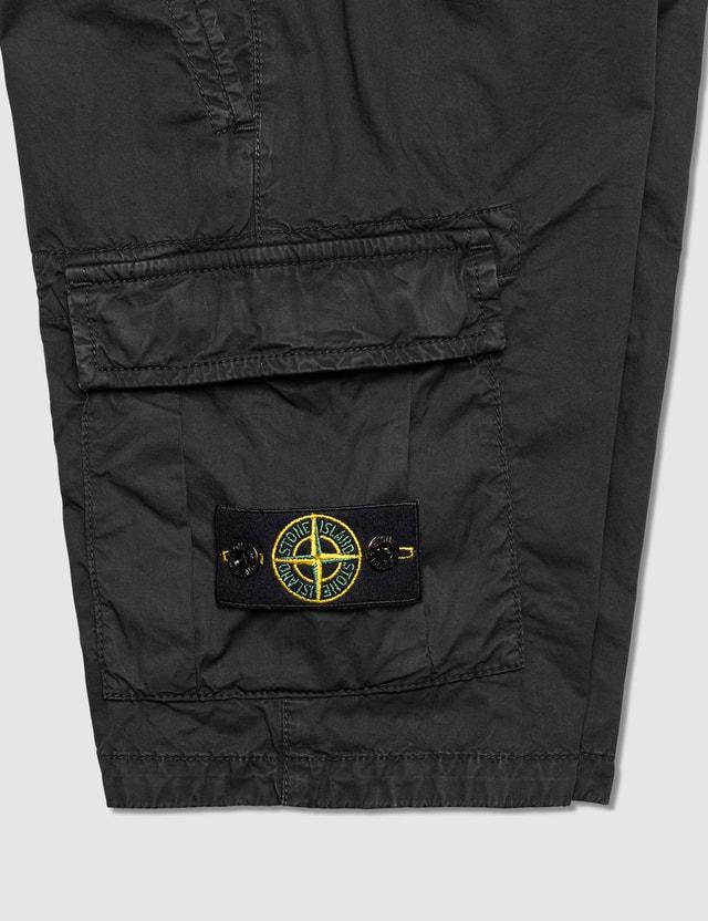 Stone Island Compass Badge Cargo Toddler Shorts