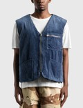 Stussy Wide Wale Reversible Vest Picture