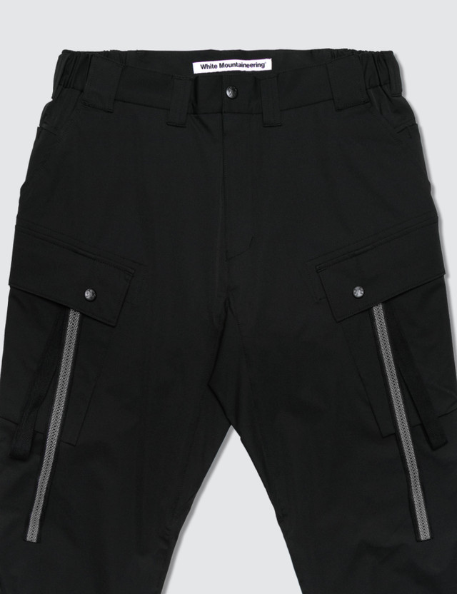 White Mountaineering Stretched Cargo Tapered Pants
