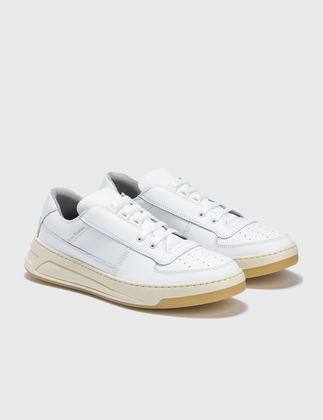 Acne Studios Steffey Lace Up Shoes White Women