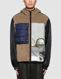 3.1 Phillip Lim Reversible Sherpa Vest with Hood Picture