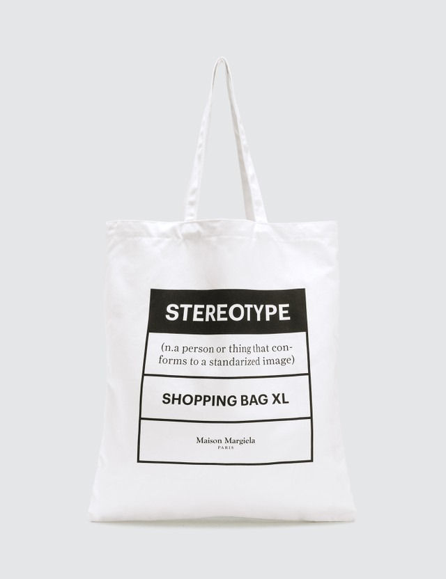 Maison Margiela Stereotype XL Shopping Bag