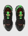 Versace Squalo Hiker Sneaker Nero+grigio+verde Fluo Men
