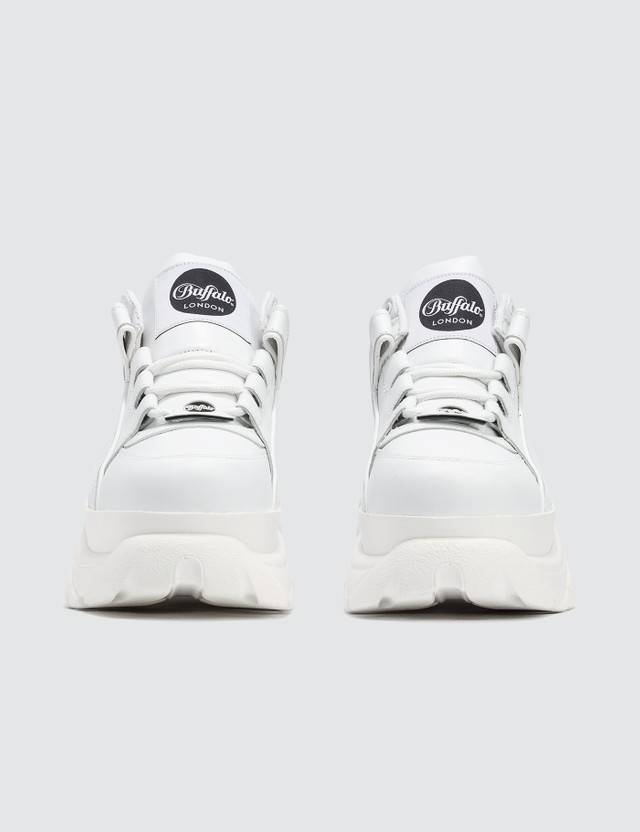 Buffalo London Buffalo Classic White Low-top Platform Sneakers