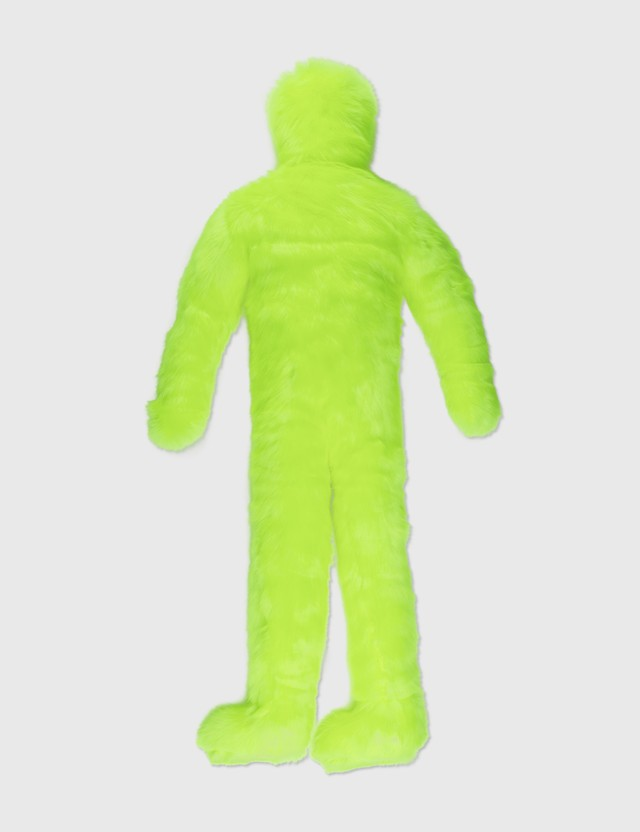 Crosby Studios Neon Green Fur Little Man Neon Green Unisex
