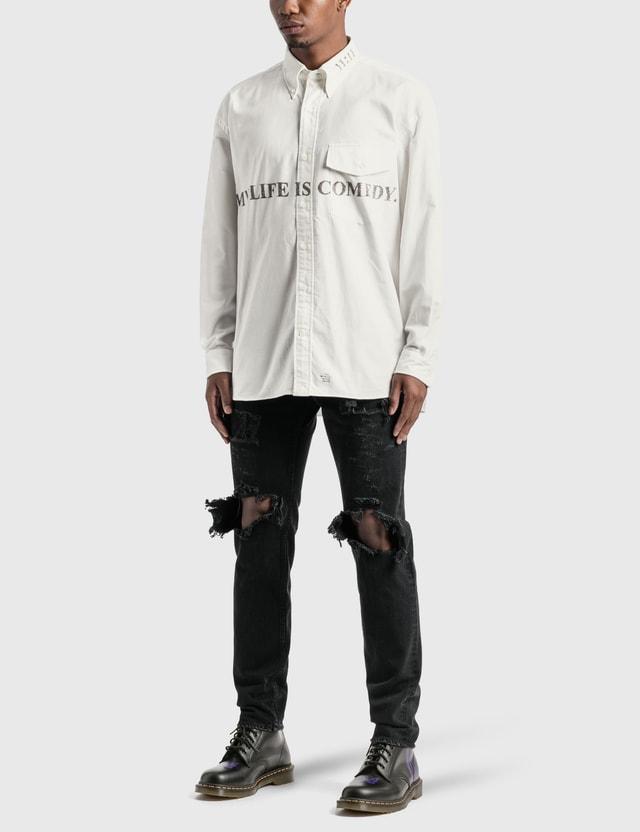 Takahiromiyashita Thesoloist Grunge Jeans Black Men