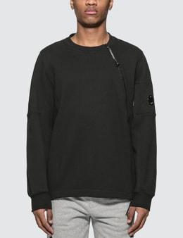 CP Company Zip Crewneck Sweatshirt
