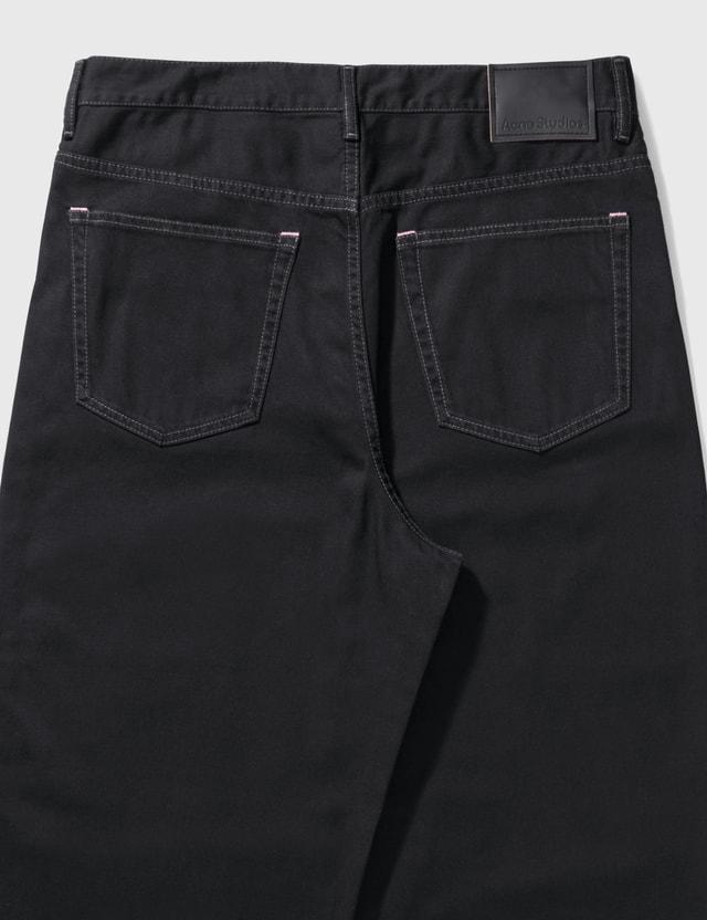 Acne Studios Roger Soft Black Jeans Black Men