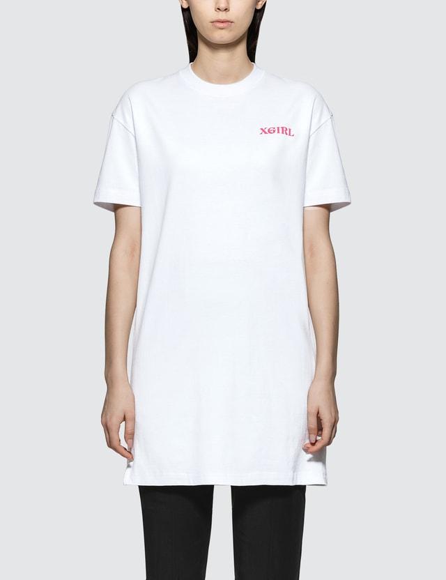 X-Girl Mona Lisa Short Sleeve Tee Dress