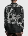 Wacko Maria 하와이언 긴소매 셔츠 (타입-6) Black Men