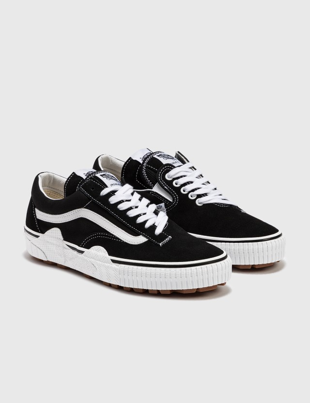 Vans Cap Mash Lo LX (suede/canvas) Black/white Men