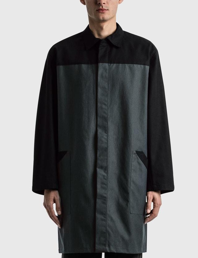 GR10K Motion Lab Coat Graphite Men