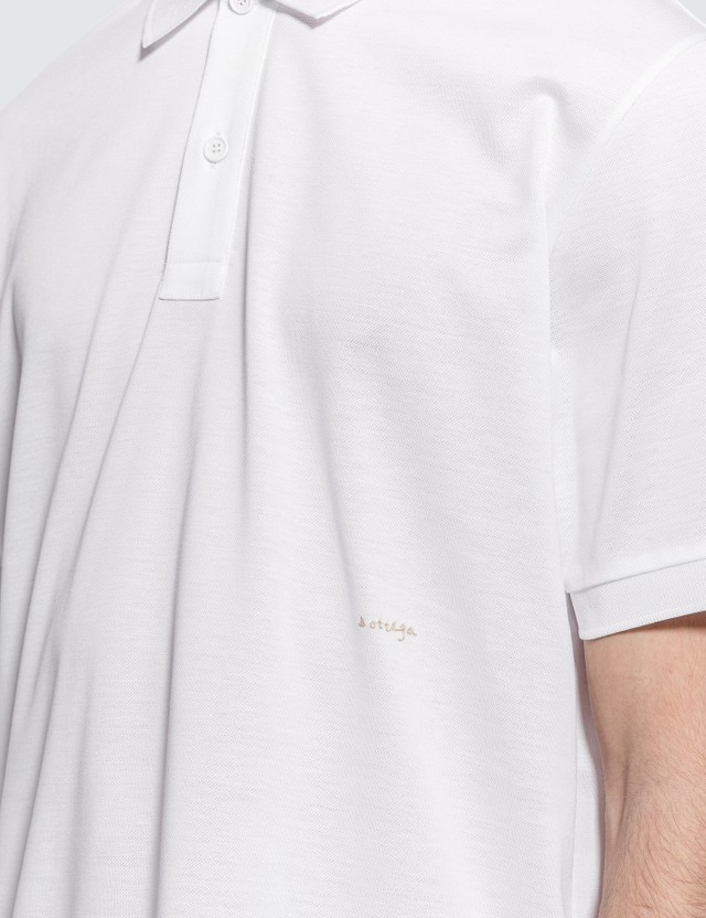 Bottega Veneta Basic Logo Polo Shirt
