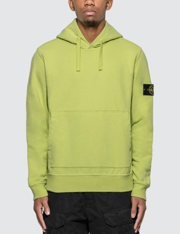 Stone Island Compass Logo Patch Hoodie