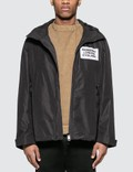 Burberry Detachable Hood Taffeta Jacket Picture