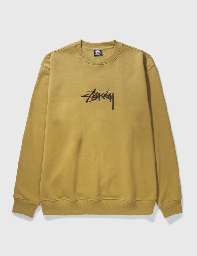 Stussy Stock App. Sweatshirt Khaki Men
