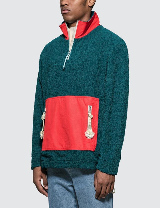 Acne Studios Faraz Patch Cotton Sweatshirt