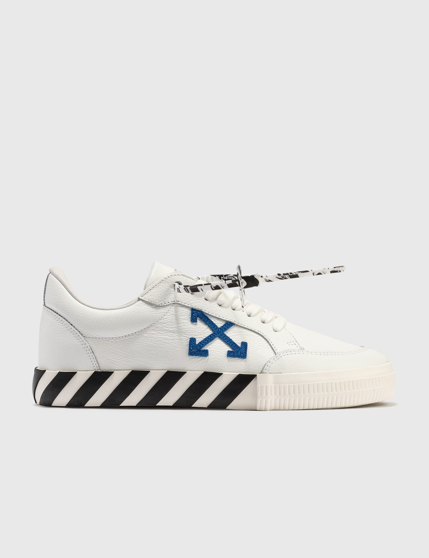 Off-White Canvases LOW VULCANIZED CALF LEATHER SNEAKER