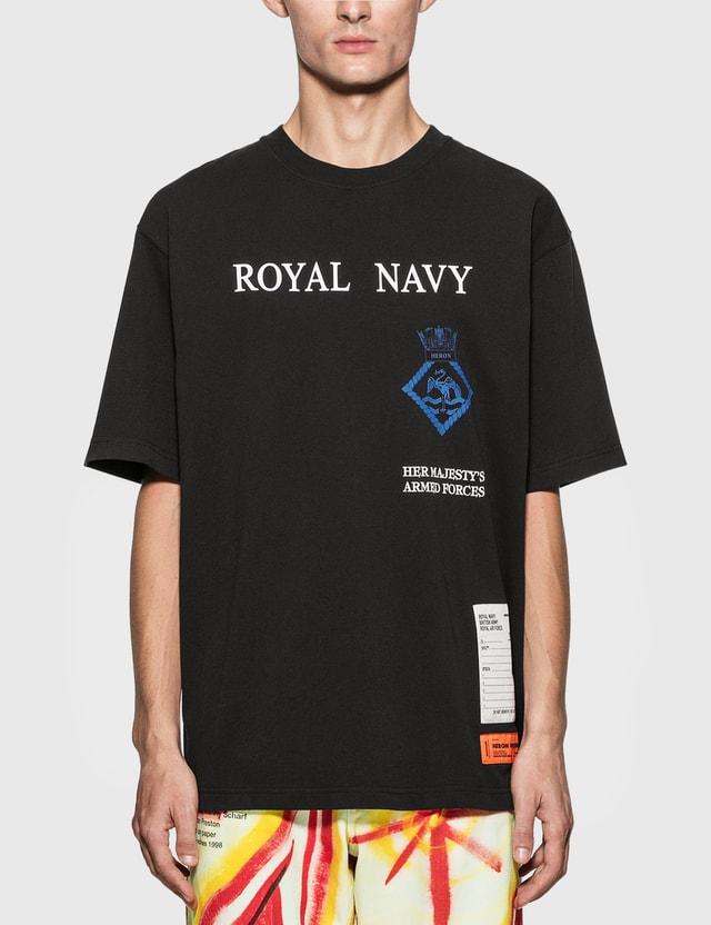 Heron Preston Heron Preston x Ministry Of Defence Royal Navy T-Shirt Navy Men