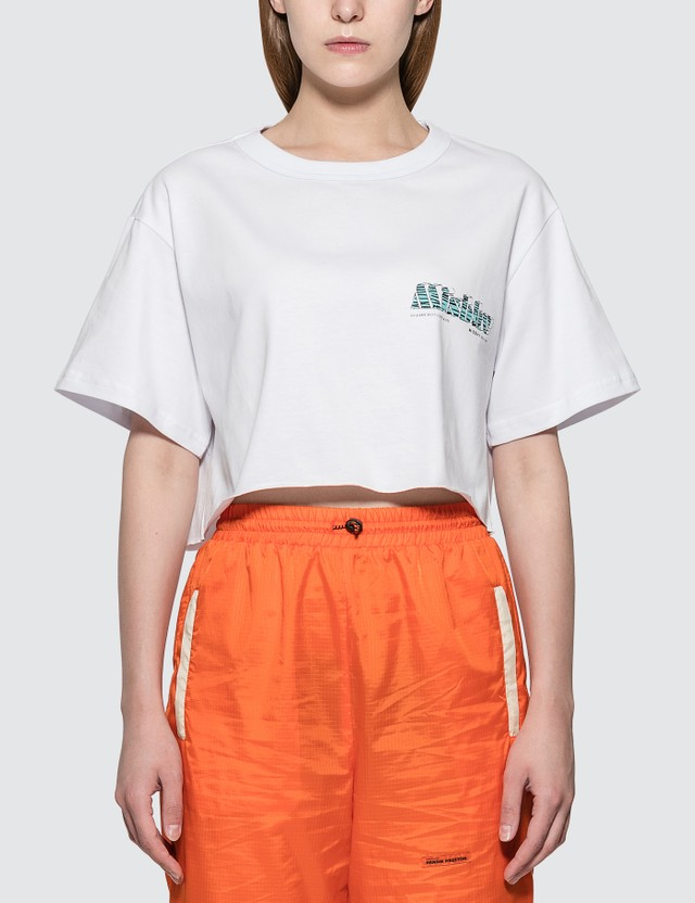 Misbhv The Mbh Hotel & Spa Cropped T-shirt White Women