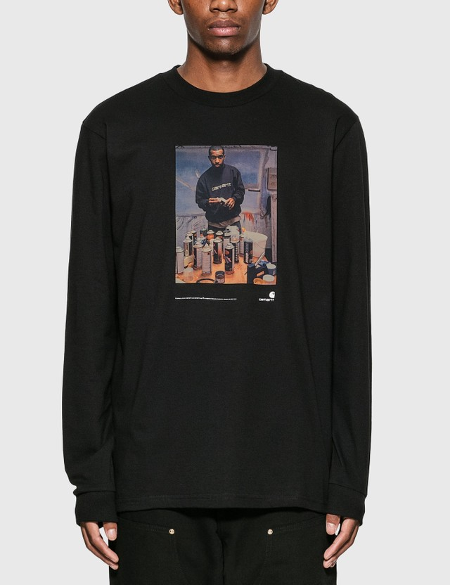 Carhartt Work In Progress 1998 Ad Jay One Long Sleeve T-Shirt