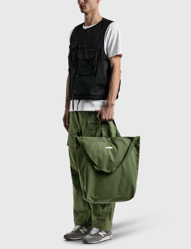 Engineered Garments Carry All Tote Olive Men