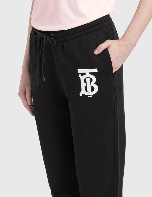 Burberry Monogram Motif Cotton Trackpants