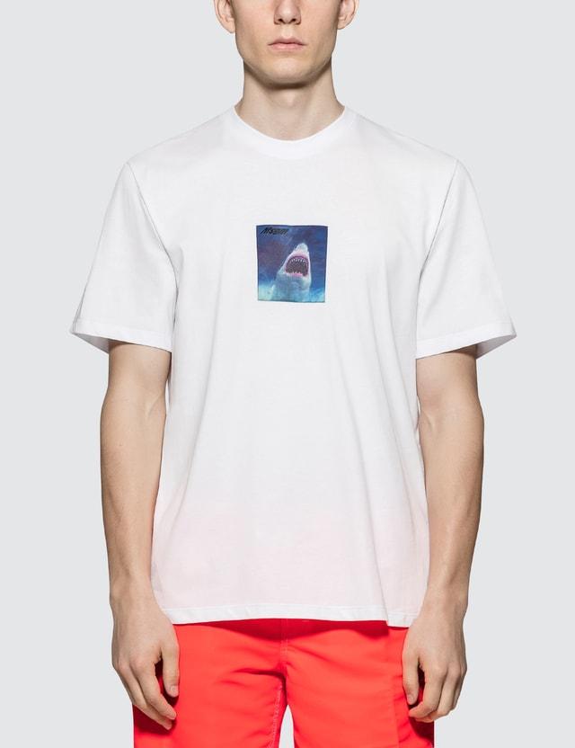 MSGM Shark Print S/S T-shirt