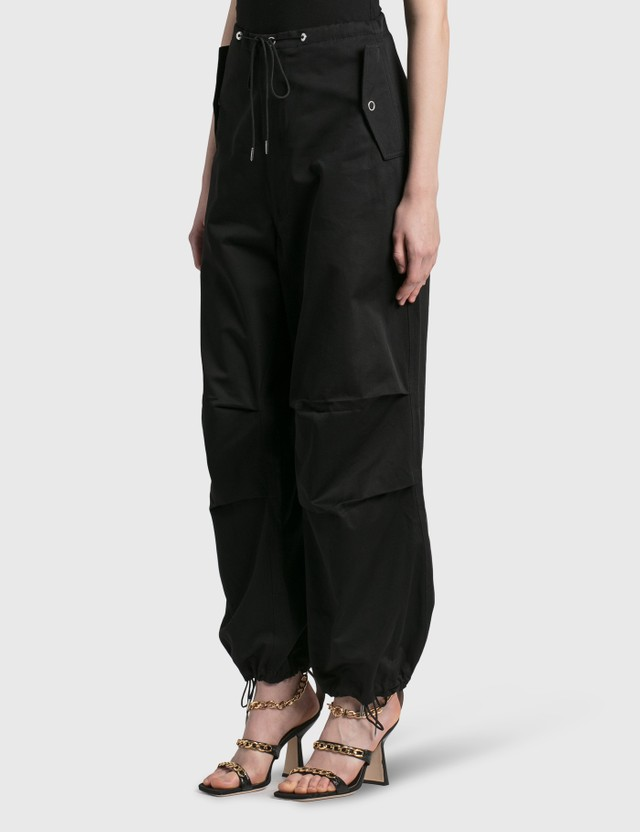 Dion Lee Cotton Parachute Pant Beige Women
