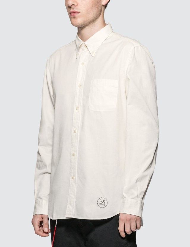 uniform experiment Gabardine Embroidery Logo B.D Shirt