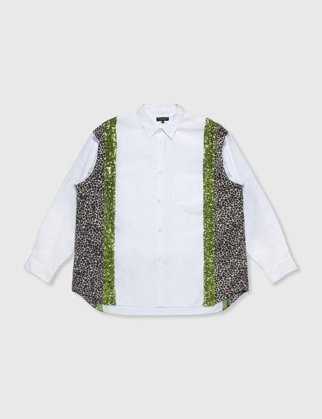 Comme des Garçons HOMME PLUS Comme Des Garçons Homme Plus White Patchwork Shirt White Archives