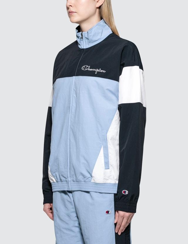 Champion Reverse Weave Logo Track Jacket