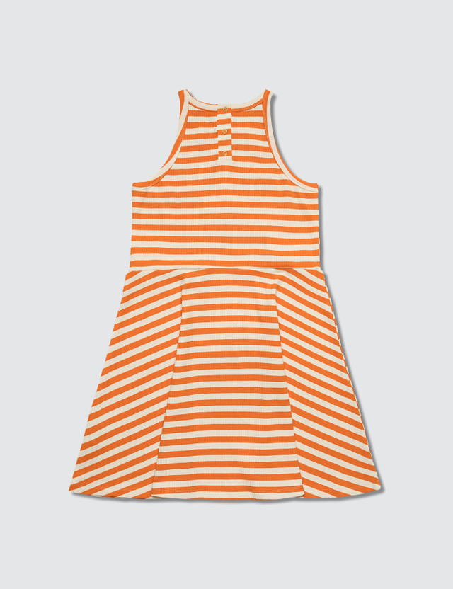 Mini Rodini Stripe Rib Tank Dress
