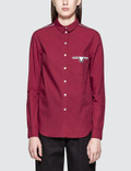 Maison Kitsune Poplin Pocket Classic Shirt Picture