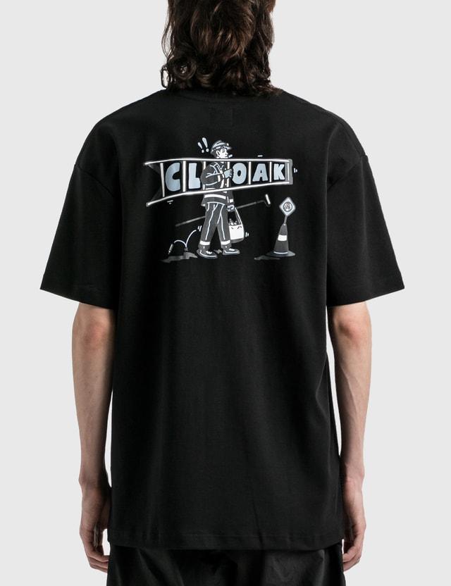 Against Lab B.A.U T-shirt Black Men