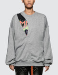 Maison Margiela Cut Out Fleece Sweatshirt Picture