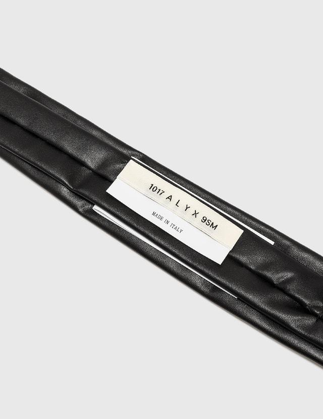 1017 ALYX 9SM Velcro Tie Black Women