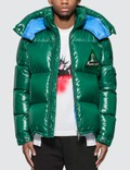 Moncler Nylon Down Jacket with Patch Detail Picutre