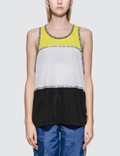 Opening Ceremony Coloblock Mesh Tank Picture