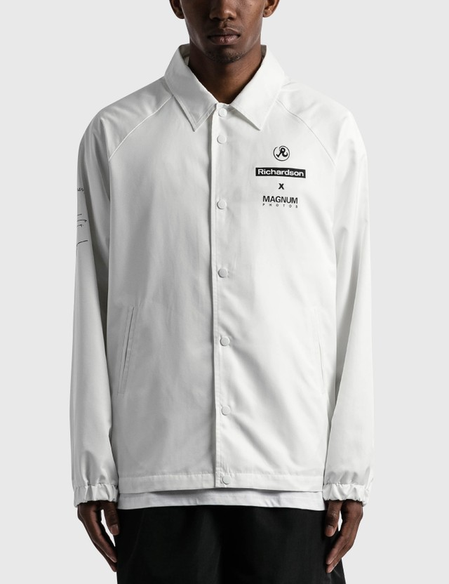 Richardson Magnum Coaches Jacket White Men