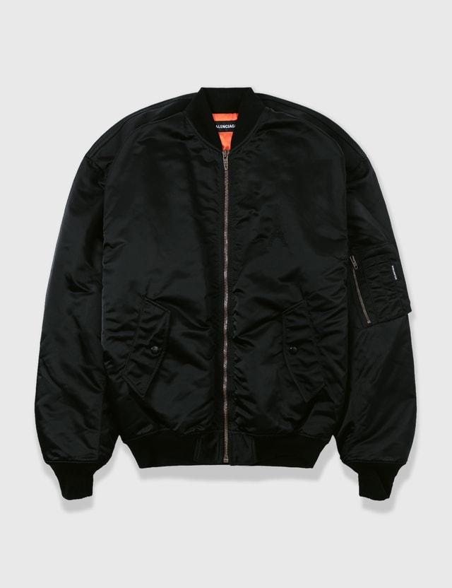 Balenciaga Balenciaga Bomber Jacket Black Archives