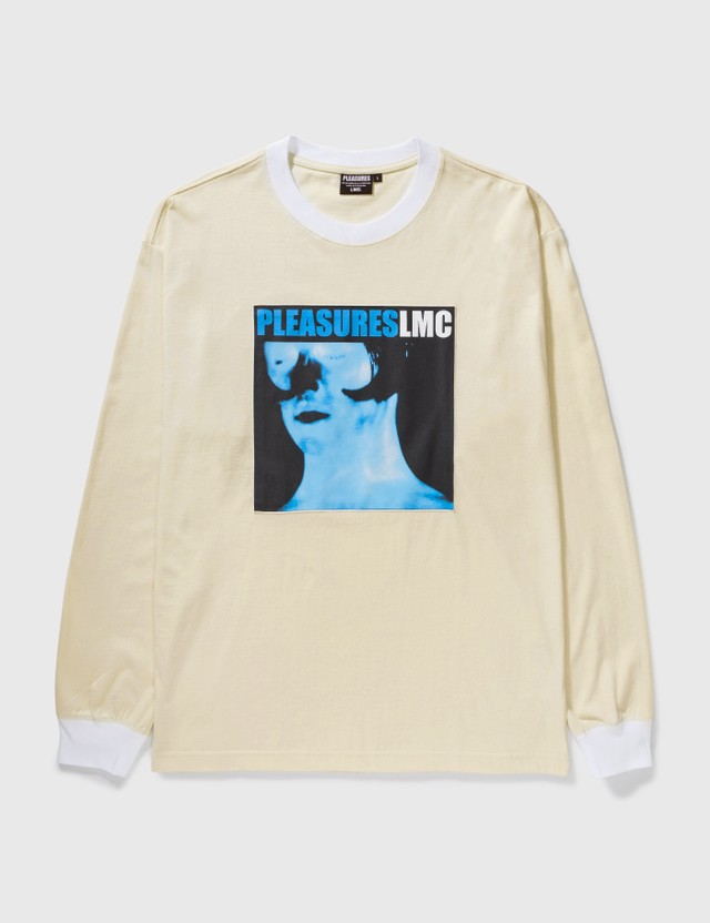 LMC LMC X Pleasures Divine Long Sleeve T-Shirt White Men