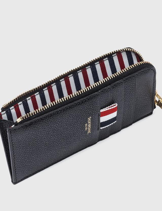 Thom Browne Half Zip Around Wallet