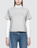 Calvin Klein Jeans Raglan Logo S/S T-Shirt Picutre