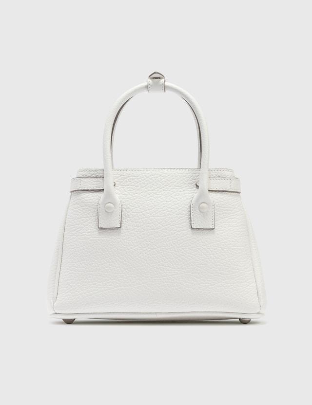 Maison Margiela Small Tote 5AC White/bright Finishing Women