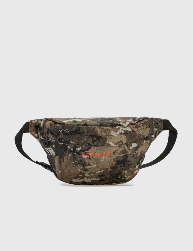 Carhartt Work In Progress Payton Hip Bag Camo Combi / Safety Orange Men