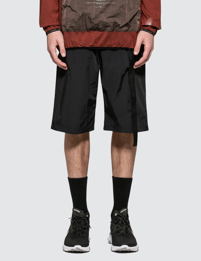 Oakley by Samuel Ross Velcro Detail Shorts